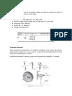 Termómetro de Vidrio