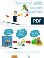 La Contabilidad y El Modelo Contractual de La Empresa