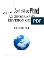 Contested Planet Revision Guide