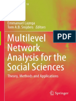 (Methodos Series 12) Emmanuel Lazega, Tom a.B. Snijders (Eds.)-Multilevel Network Analysis for the Social Sciences_ Theory, Methods and Applications-Springer International Publishing (2016)