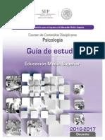 18 Guia de Estudio Ingreso Psicologia educacion media superior