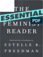 The Essential Feminist Reader Modern Library Classics