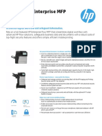 HP LaserJet Enterprise MFP M630 Datasheet