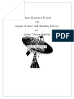 Monetary & Fiscal Policy of Telecom