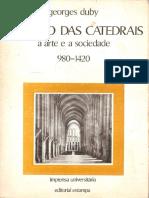 DUBY, Georges. O Tempo Das Catedrais