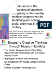Art Education at the Intersection of Creativity