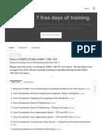 Cisco Ccent/ccna Icnd1 100-105 Cbt Nuggets Download