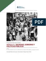 Sociedad , Gobierno y PP