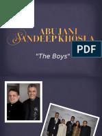 Designers Abu Jani & Sandeep Khosla