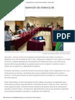 26/07/16 Capacita ISM en Prevención de Violencia de Género - Opinión Sonora