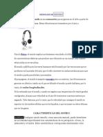 DEFINICIÓN DESONIDO
