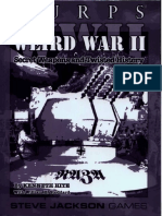 GURPS - WWII - Weird War II - Secret Weapons and Twisted History