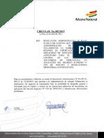 RA PE 01 009 15 Habilita Vilamonte Deps Anticipado DS 2295