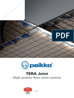 TERA Joint-floor Joint System
