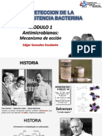 MODULO 1 Antimicrobianos Mecanismos de Accion