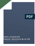 Tarea y Evaluacion Estructura de La ICFD