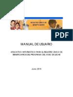 Manual Aplicativo Rubpvl