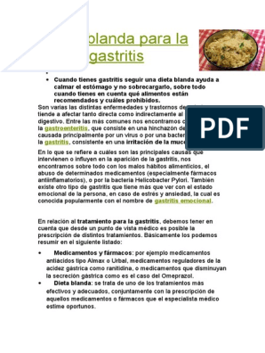 Alimentos prohibidos helicobacter pylori