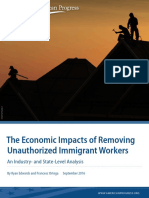 The Economic Impacts of Removing Unauthorized Immigrant Workers