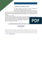 Fisco e Diritto - Corte Di Cassazione Ordinanza n 8690 2010