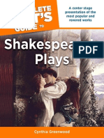 The inComplete Idiot's Guide to Shakespeare's Plays - Cynthia Greenwoord