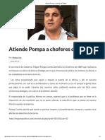 19/09/16 Atiende Pompa a Choferes de UBER - Critica
