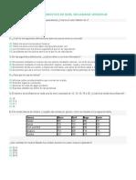 Examen Diagnóstico de Nivel Secundaria Versión 40