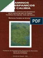 Caminos Prehispanicos en Calima