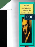 LA TEORIA PURA DEL DERECHO (El método y los conceptos fundamentales) -HANS KELSEN-