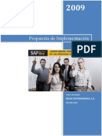 Propuesta Sap Business One  Guatemala