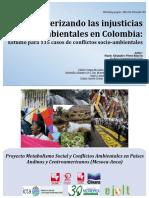 Conflictos Ambientales Colombia 115 Casos Mesoca Anca v 2016 2