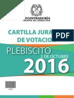 Cartilla Jurados Registraduria Nacional 2016