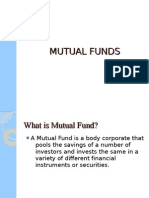 Final PPt of Mutual Fund