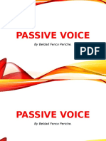 PASSIVE VOICE  class on 14-08-2014- V cycle.  GRAMATICA AVANZADA..pptx