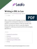 Writing a DSL in Lua.pdf