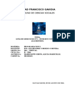 GUÍA DE EJERCICIOS N°1 – INTRODUCCIÓN A LOS ALGORITMOS.