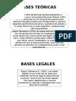 Bases Teóricas y Legales