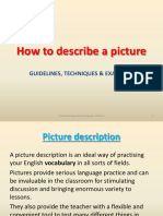 How to Describe a Picture