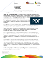 11 12 2011- El gobernador de Veracruz, Javier Duarte asistió al Primer Informe de Gobierno de la alcaldesa xalapeña.