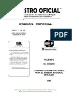tarifario 2014_registro Oficial 235