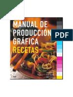 Manual de Produccion Gráfica Recetas