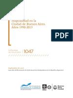 Nupcialidad Buenos Aires 1990-2015