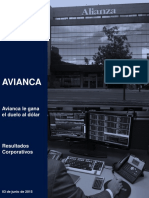 Avianca Resultados Corporativos 1T15