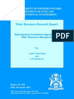 Multi-objective Evolutionary Algorithms for Water Resources Management