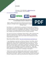 ExxonKnew Launch Press Release