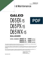 D65EX-15  67000- Up