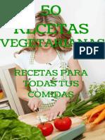 50 Recetas Vegetarianas_ Las Me - Noemi Cervantes