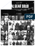 Metal Gear Solid - Characters Profile and Timeline