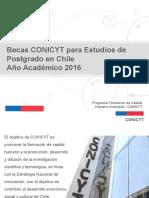 Conicyt Nacional 2016