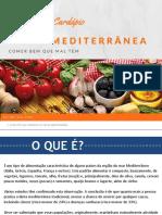 Cardapio Completo Da Dieta Mediterrânea